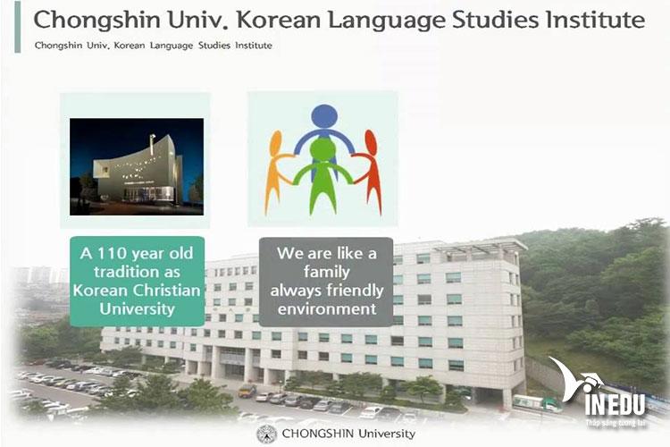 Đại học Chong Shin có bề dày lịch sử hơn 100 năm