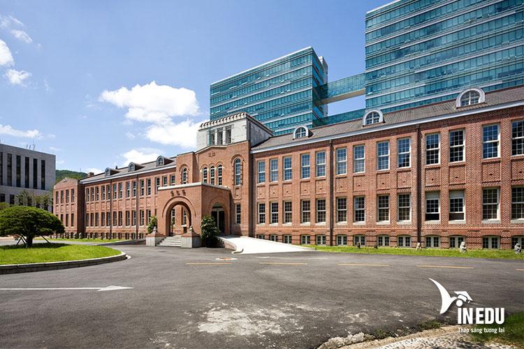 Đại học Dong A là trường tư thục top đầu tại Hàn Quốc