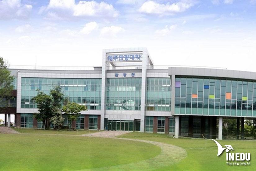 Đại học du lịch Jeju - một trong những ngôi trường đẹp nhất xứ Hàn