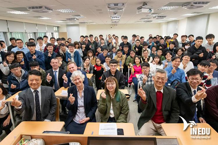 Đại học Quốc gia Đài Loan thu hút rất nhiều sinh viên quốc tế