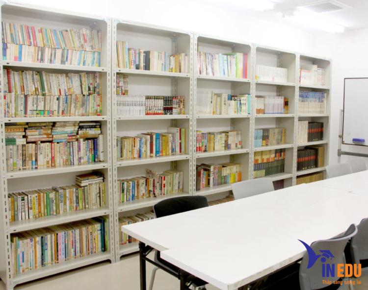 Một góc trong thư viện
