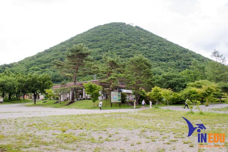 Núi Haruna với khung cảnh thơ mộng