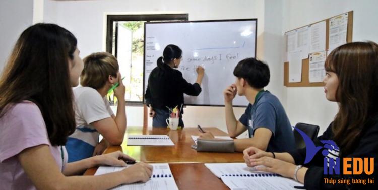 Giờ học với giáo viên
