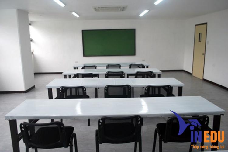 Không gian phòng học của trường