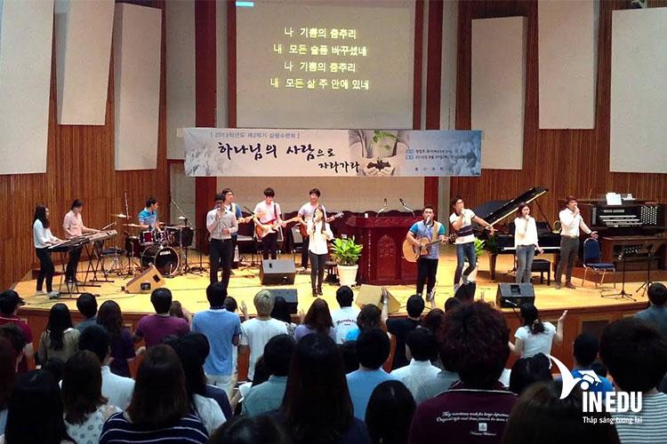 Học Âm nhạc tại Đại học Chong Shin