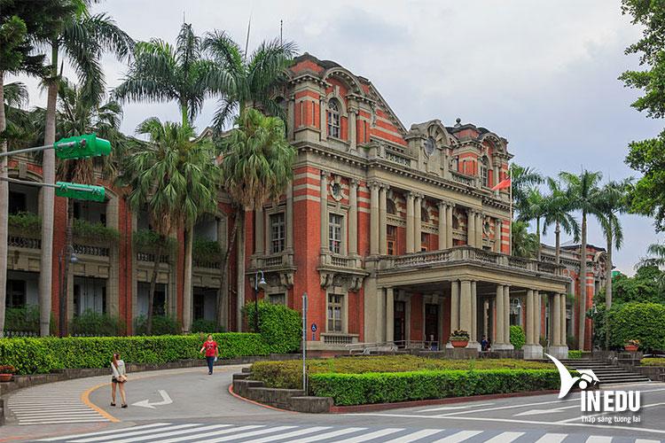 Khuôn viên trường ĐH Quốc Gia Đài Loan