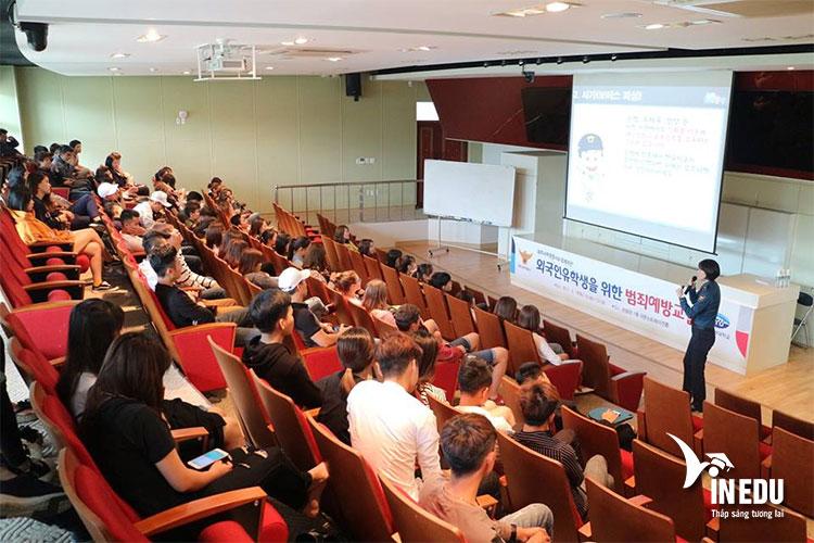 Mặc dù mang tên là đại học du lịch Jeju nhưng trường có rất nhiều chuyên ngành khác nhau
