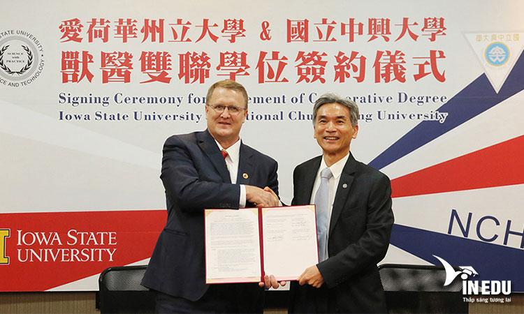 Sự hợp tác giữa trường với các trường đại học quốc tế khác