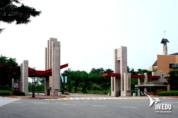 Trường đại học Mokwon là điểm đến mơ ước của nhiều bạn trẻ