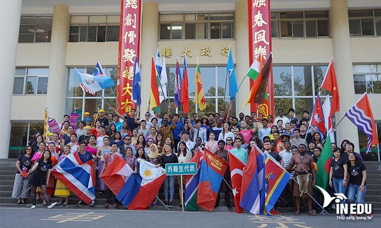 Trường đại học quốc gia Đài Trung có nhiều chế độ học bổng hấp dẫn cho sinh viên