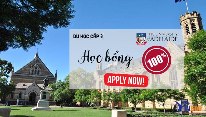 Học bổng du học cấp 3 tại trường Adelaide Úc