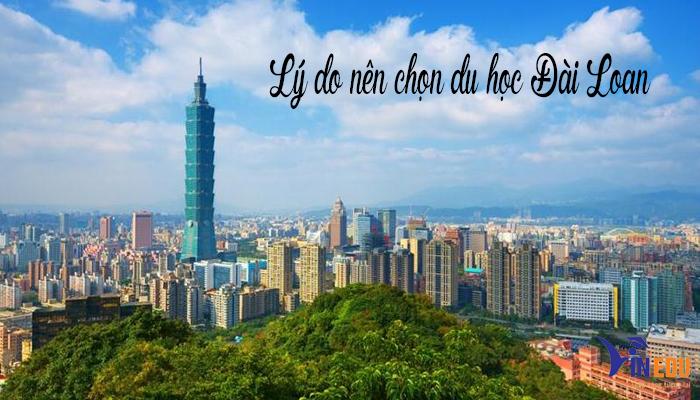 Lý do chọn du học Đài Loan
