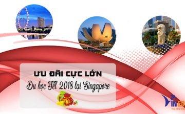 Ưu đãi lớn khi du học Tết tại Singapore 2018