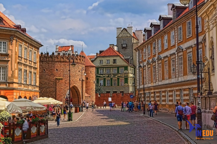 Phố cổ Warszawa