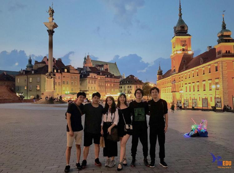 Du học sinh Việt tại Ba Lan