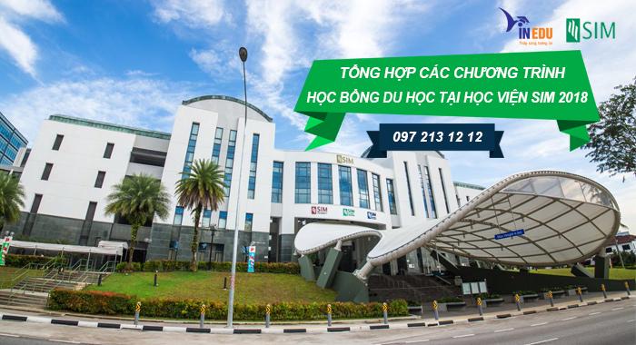 Tổng hợp học bổng du học tại Học viện SIM Singapore 2018