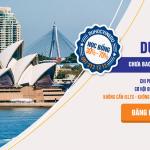 Du học Úc không cần IELTS không cần chứng minh tài chính.