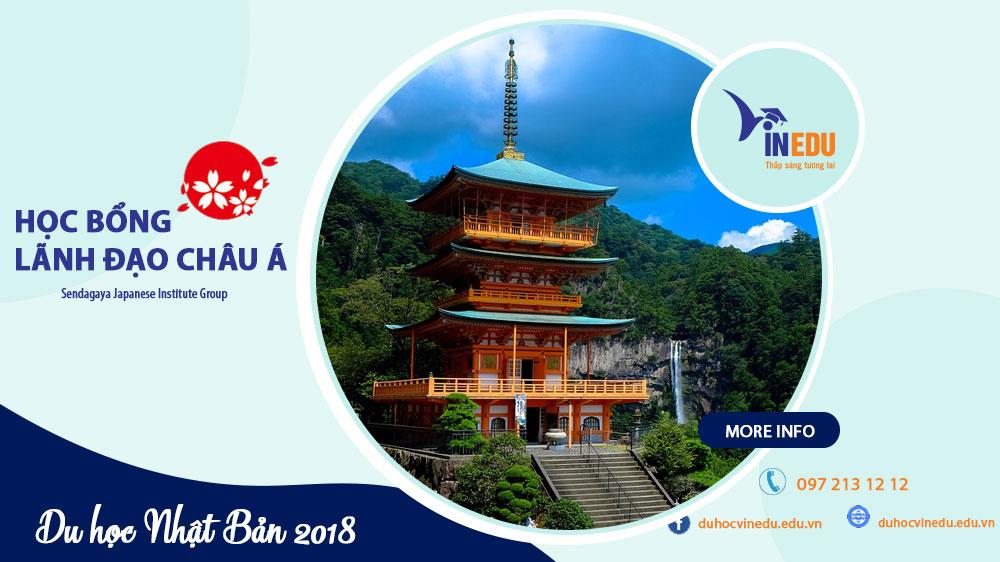 Du học Nhật Bản 2018 - Học bổng Lãnh đạo Châu Á