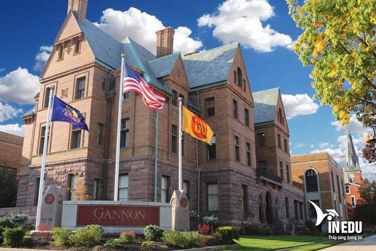 Đại học Gannon đang là ngôi trường mơ ước của nhiều sinh viên