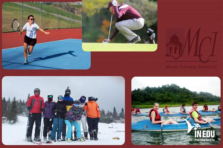 Trường có nhiều hoạt động và câu lạc bộ