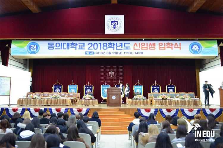 Yêu cầu đầu vào của đại học tư thục hàng đầu Busan cũng không quá khó
