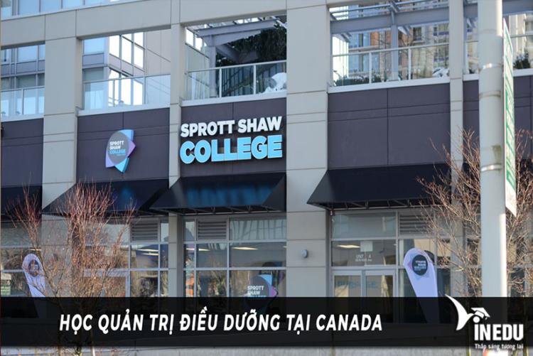 Điều kiện học tại Sprott Shaw College