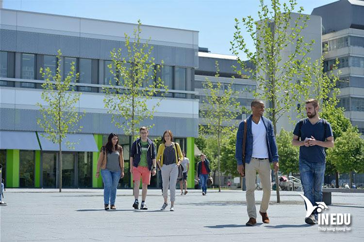 Đại học Bielefeld Đức là điểm đến mơ ước của nhiều bạn trẻ