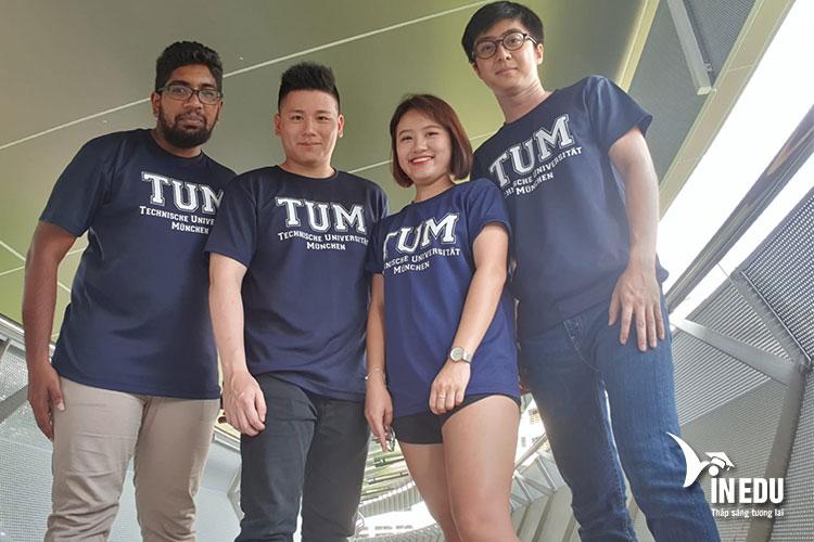 Đại học kỹ thuật Munchen là điểm đến mơ ước của nhiều bạn trẻ