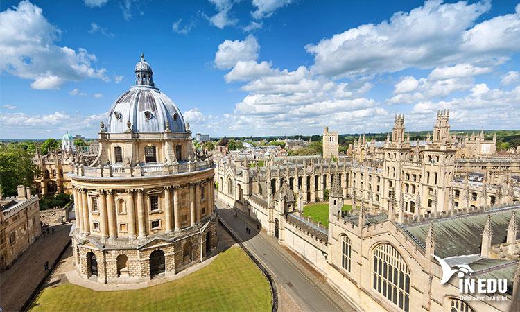 Đại học Oxford là cái nôi của nền văn minh giáo dục nhân loại