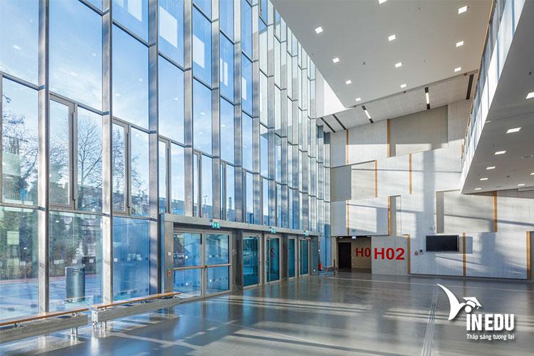 Trường kỹ thuật RWTH Aachen sở hữu cơ sở vật chất tiên tiến, hiện đại
