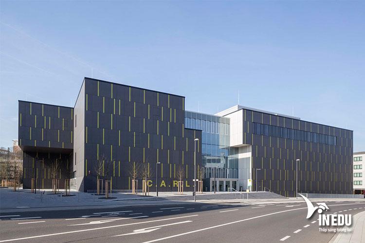 Trường RWTH Aachen có diện tích rộng lớn với hơn 250ha