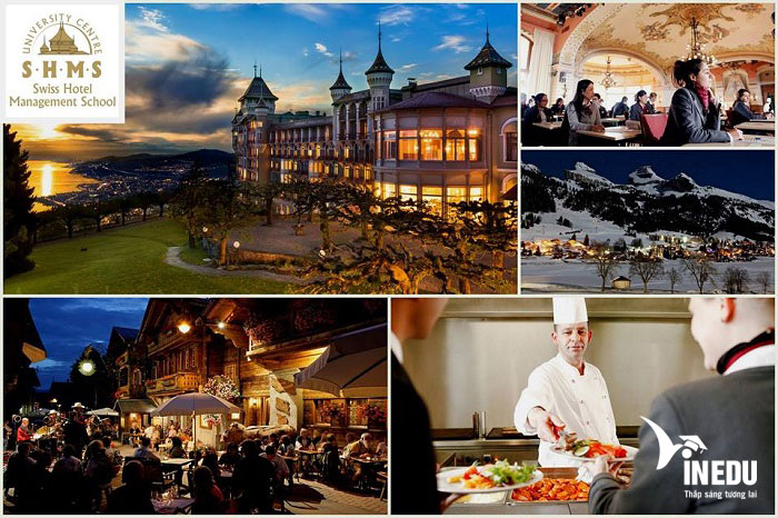 Thoải mái học chuyển tiếp tại Anh, Thụy Sĩ, Úc ngành du lịch khách sạn