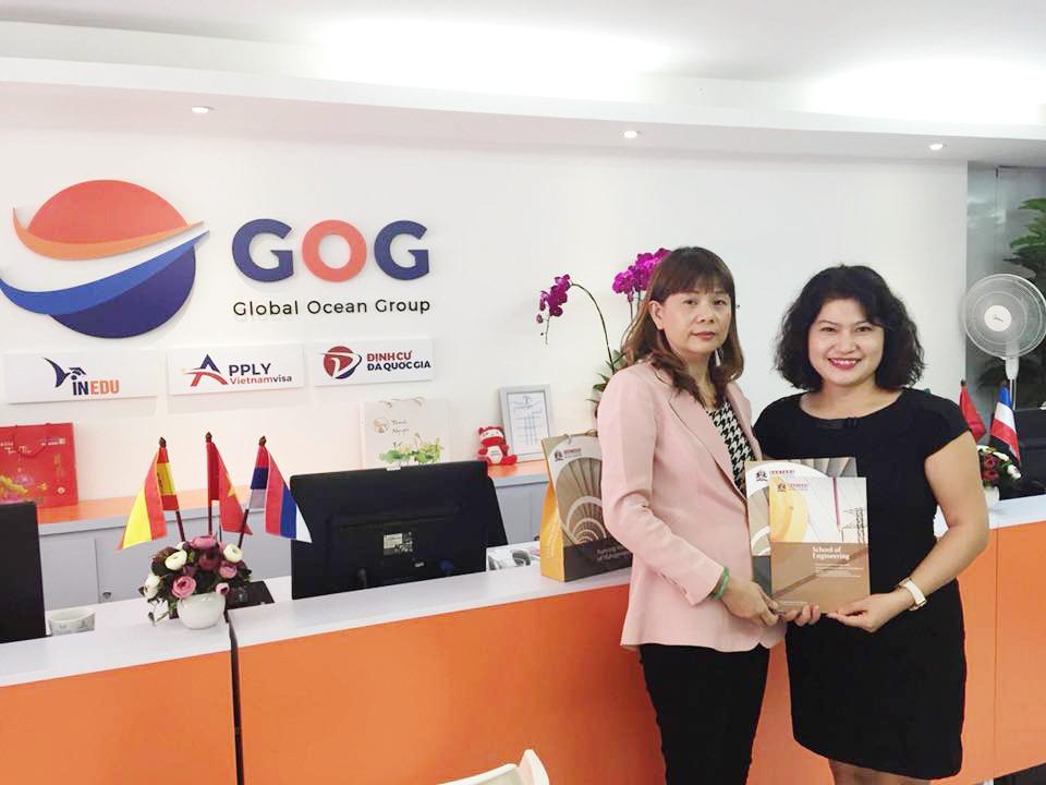 TIN MỚI: Gặp gỡ Đại diện của Học viện Quản lý Nanyang, Singapore