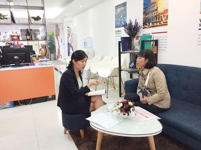 [GÓC VĂN PHÒNG] Một ngày tiếp sinh du học Úc, du học Đức của VinEdu Hà Nội