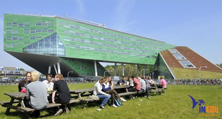 Tòa nhà hiện đại nhất của đại học Groningen