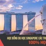 CẬP NHẬT HỌC BỔNG DU HỌC SINGAPORE CÁC TRƯỜNG HOT