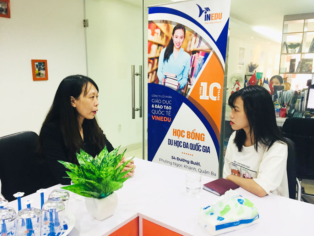 [GÓC VĂN PHÒNG] Tiếp học sinh chuẩn bị du học Trung Quốc