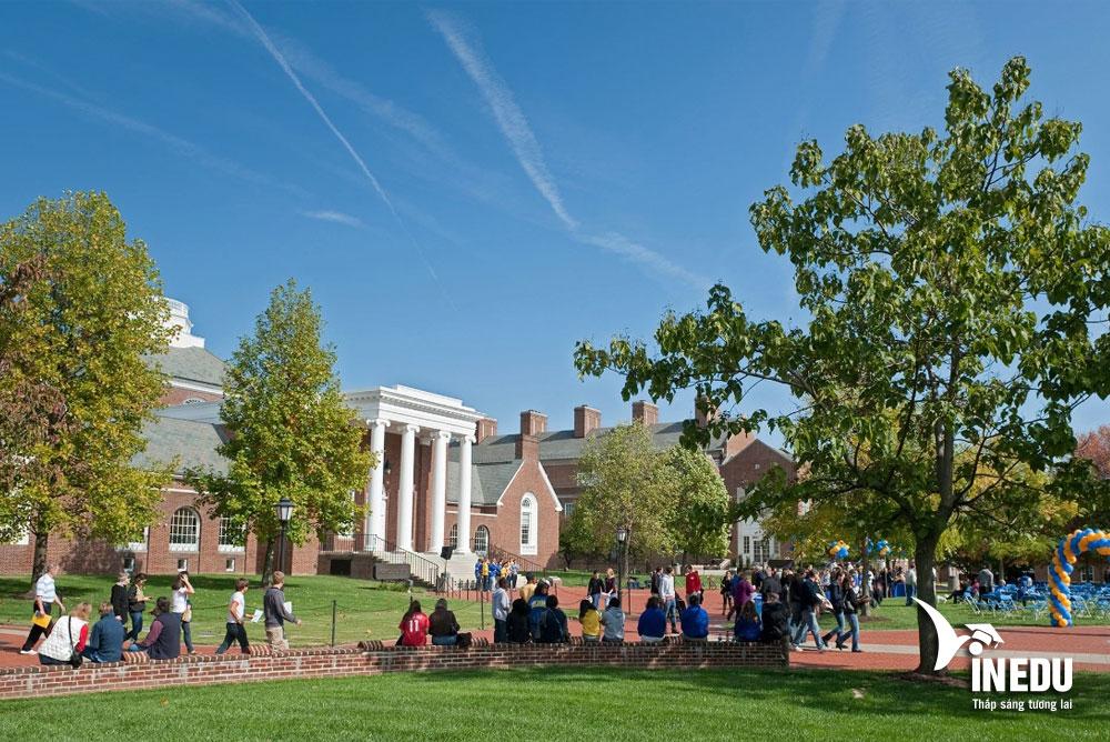 Học bổng du học Mỹ cử nhân lên tới 15.000USD của Đại học Delaware