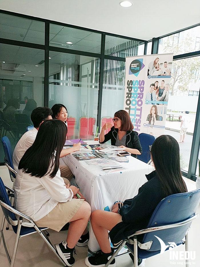 Du học VinEdu tổ chức triển lãm du học tại khối trường phổ thông quốc tế