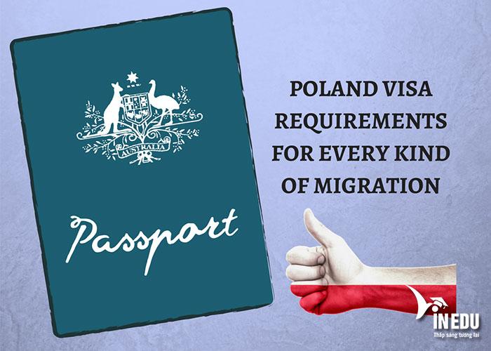 Xin visa du học Ba Lan là điều không thể thiếu trước khi đến với quốc gia này