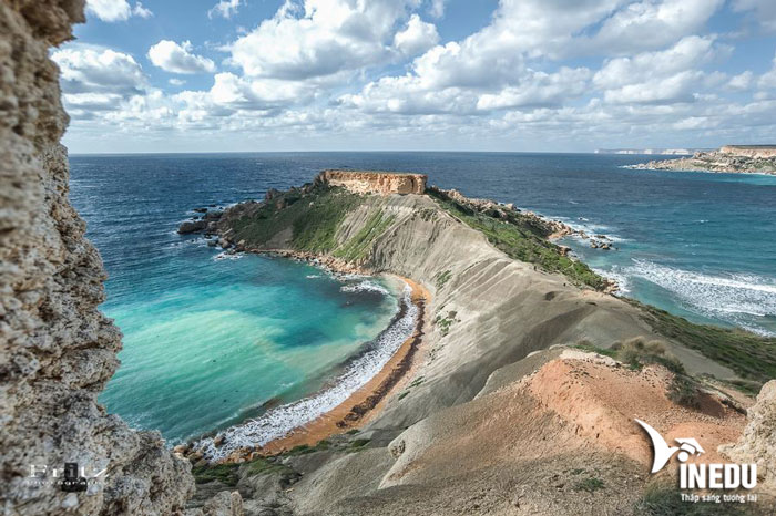 Khám phá 10 bãi biển đẹp mê hồn phải ghé qua khi du học tại Malta