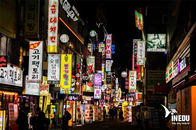 Du học Hàn Quốc không cần tiếng Hàn, bằng cấp chuẩn Mỹ