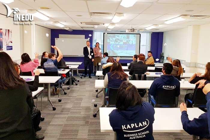 Du học Úc tại Kaplan Business School với nhiều cơ hội học bổng hấp dẫn