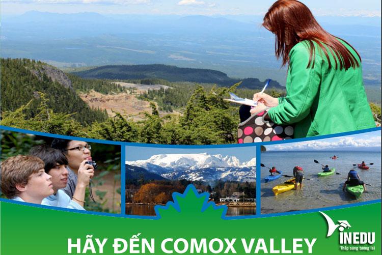 Học bổng du học 500$ tại hệ thống Comox Valley School District