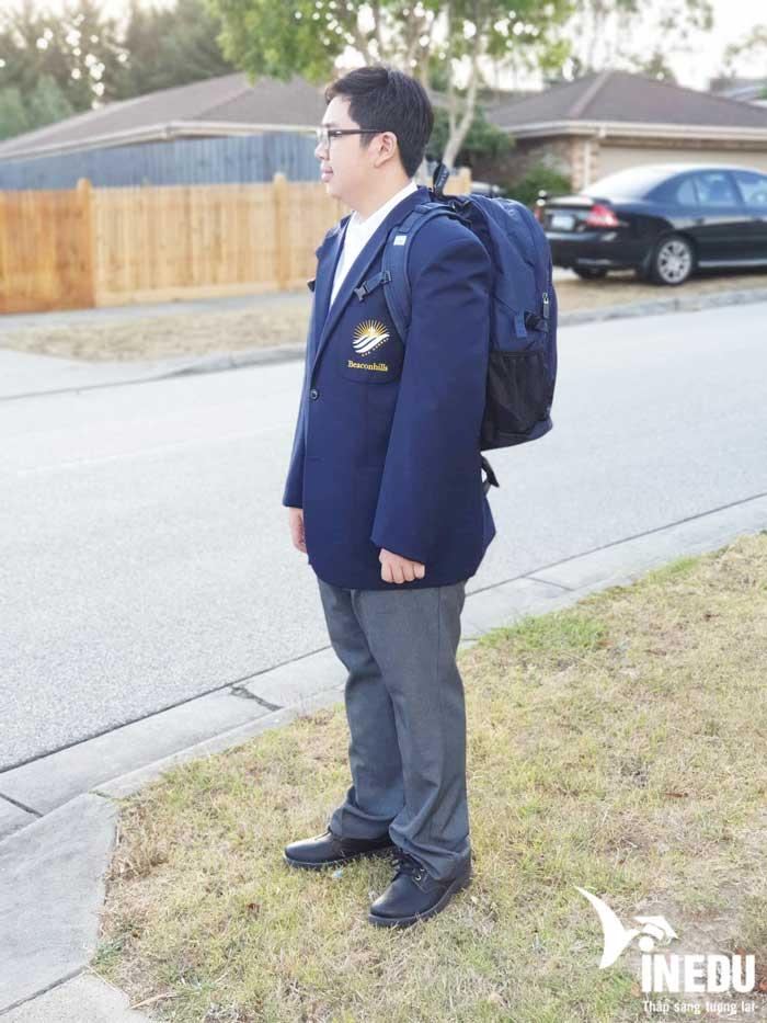 Nguyến Thế Bảo đã nhập học suôn sẻ sau khi đậu visa du học Úc