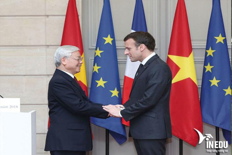 Pháp và Việt Nam có mối quan hệ như thế nào?