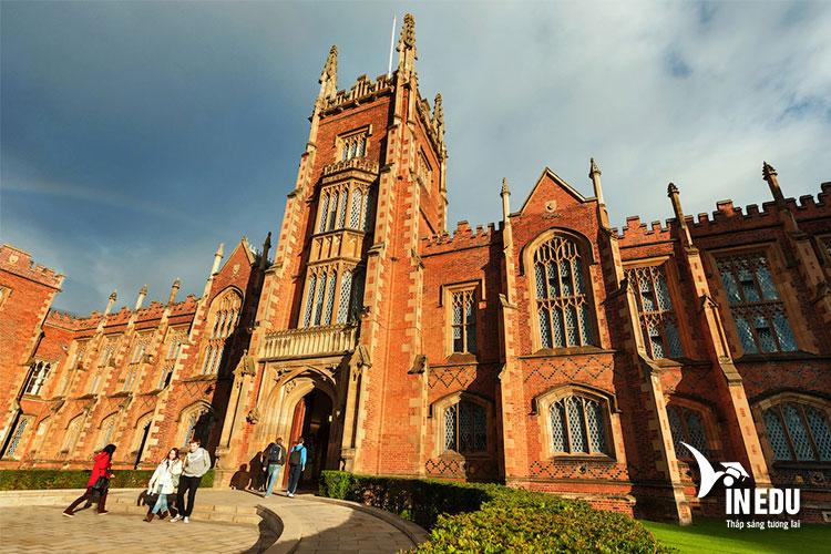 Đại học Queen's Belfast là ngôi trường danh giá top đầu nước Anh