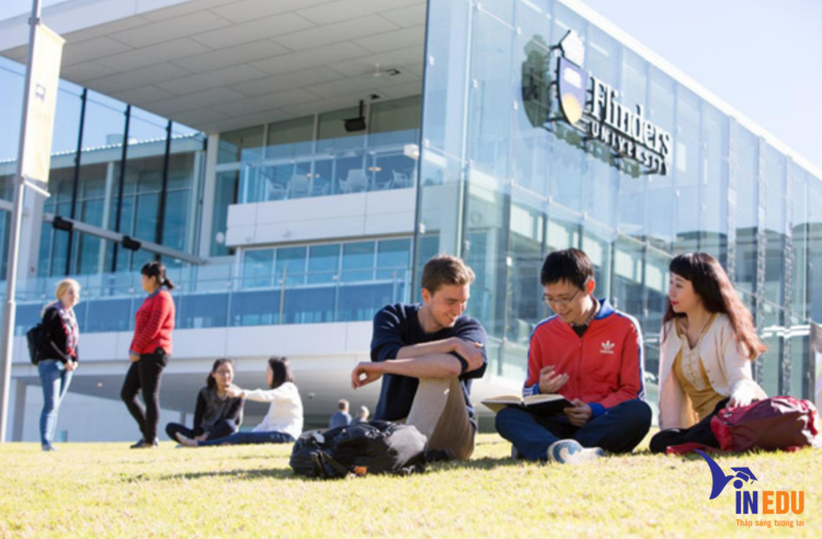 Số lượng sinh viên quốc tế đông đảo