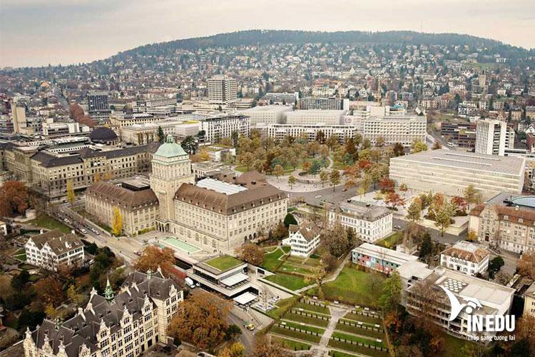 Khuôn viên chính Đại học Zurich