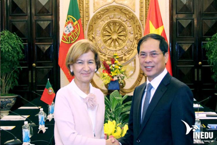Mối quan hệ ngoại giao Việt Nam - Bồ Đào Nha